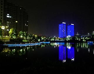株洲市天元区夜景亮化提质改造工程